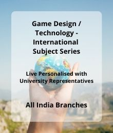 Game Design and Tech - INTL SUB Series