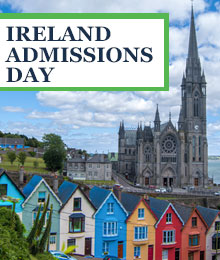 Ireland Admissions Day