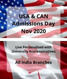 USA  And CAN Admissions Day Nov 2020