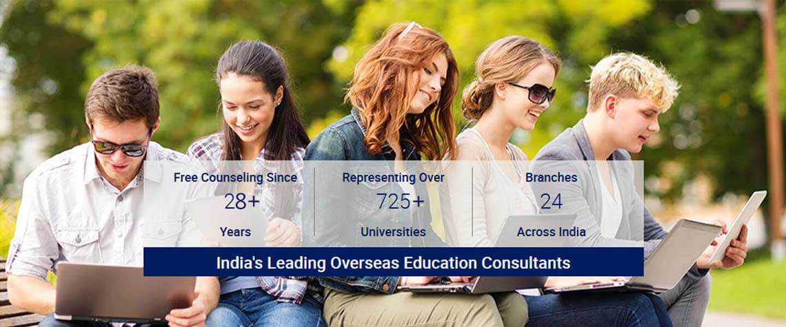 Study Overseas Education Consultants - Edwise International with 24