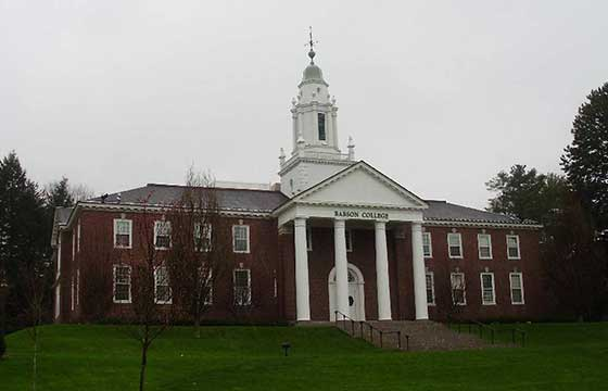 Study at Babson College USA
