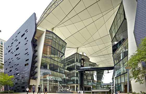 Lasalle College Of The Arts in Singapore
