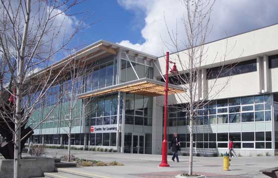 Okanagan College In Canada