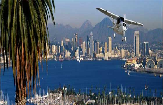 Study at San Diego Flight Training International USA