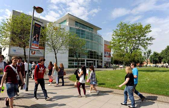 Study at Teesside University UK