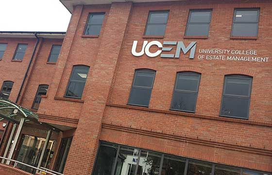 Study at University College of Estate Management UK